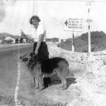 Gravel Gertie on Hwy 395/Route 66 before freeway